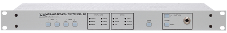 AES 402 Digital Audio Switcher